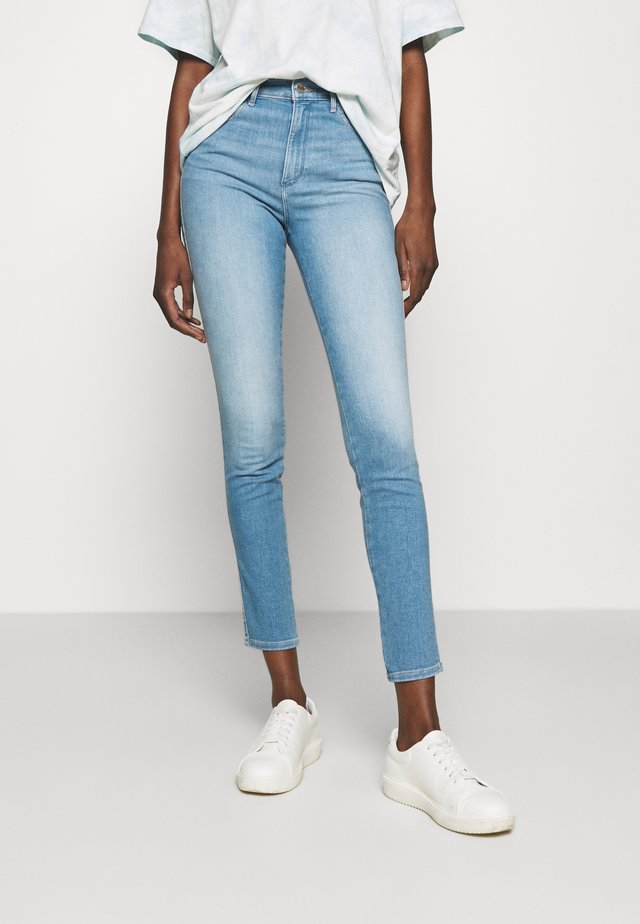 HIGH RISE - Jeans Skinny - soft cloud