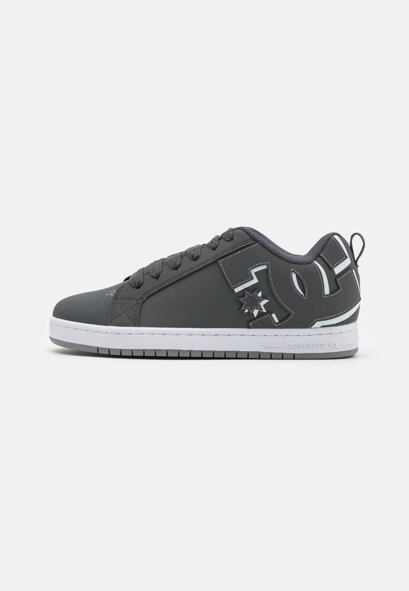 DC Shoes - COURT GRAFFIK - Sneakers laag - grey/white