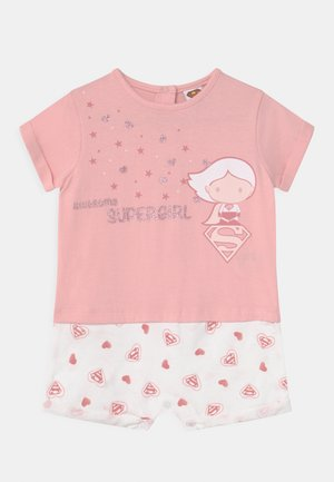 SUPERGIRL - Jumpsuit - flamingo pink