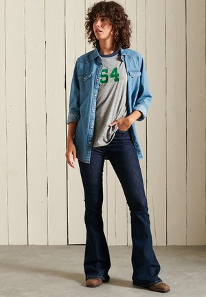 VINTAGE LOGO AMERICAN CLASSICS - Print T-shirt - athletic grey marl