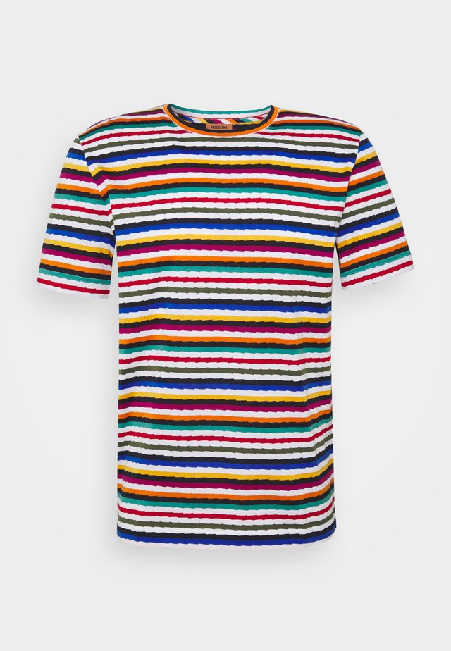 MANICA CORTA - T-shirt con stampa - multicoloured