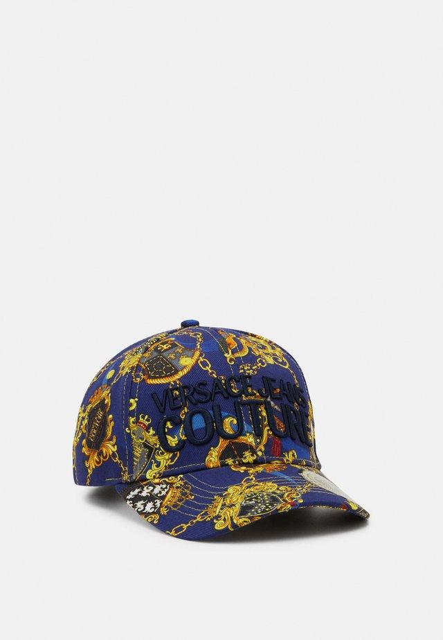 Czapka z daszkiem - blue/gold