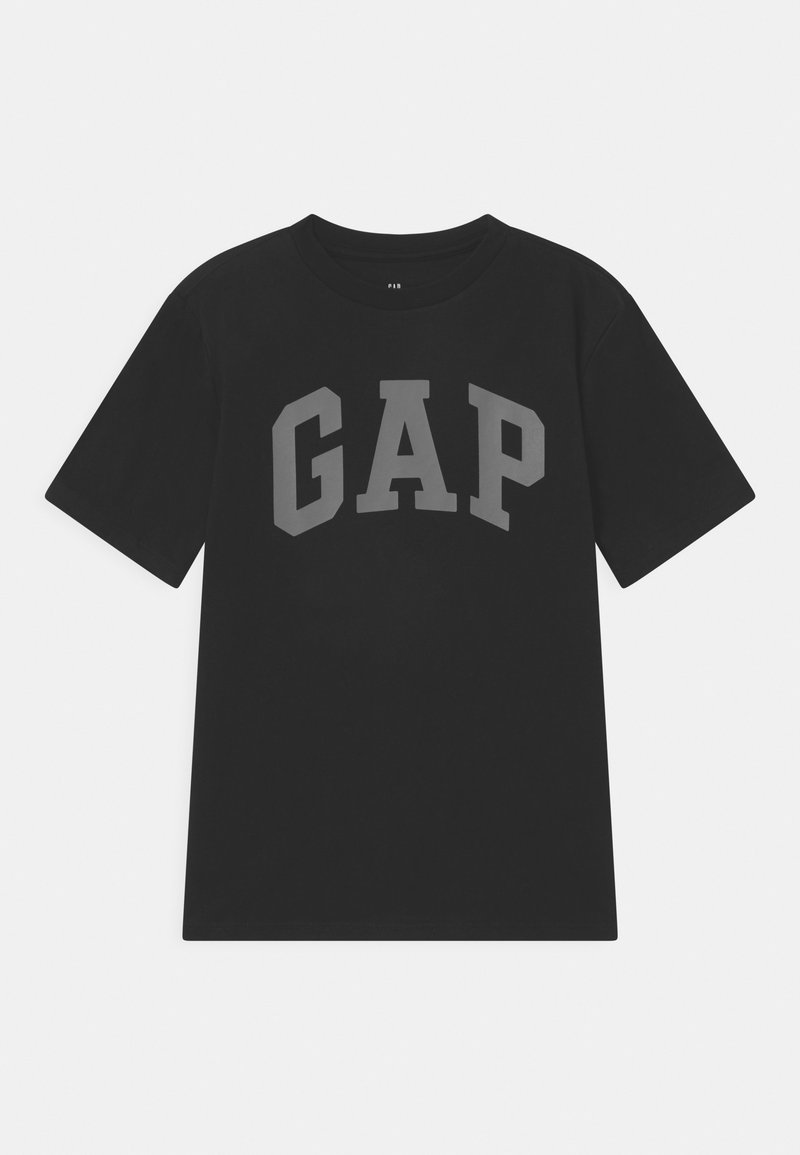 GAP - BOY ARCH - T-shirt con stampa - true black