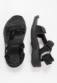 Hi-Tec - ULA RAFT JR - Walking sandals - black - 0