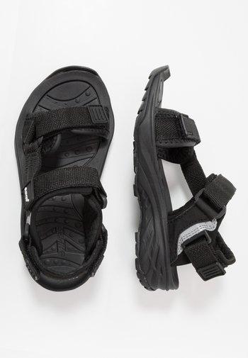 ULA RAFT JR - Walking sandals - black