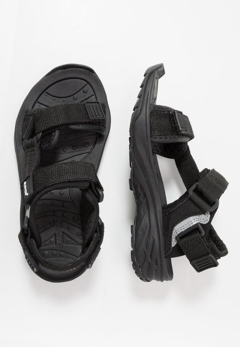 Hi-Tec - ULA RAFT JR - Walking sandals - black