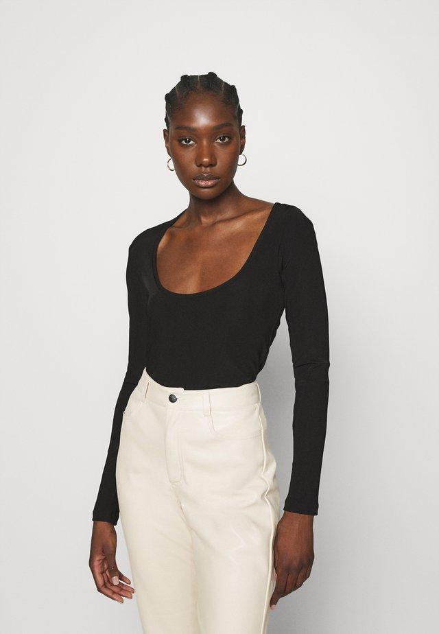 JESS  - Bluzka z długim rękawem - black