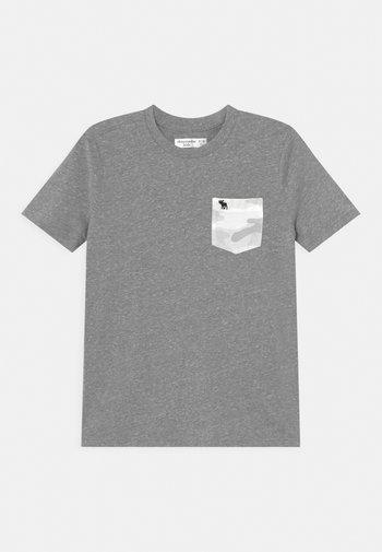 NOVELTY - Print T-shirt - grey