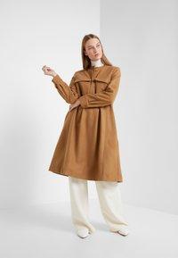 Lovechild - PAULA - Shirt dress - camel - 1