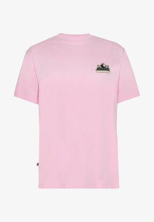 UNISEX SWEET LOOSE TEE - Print T-shirt - pink
