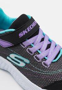 Skechers - SNAP SPRINTS - Baskets basses - black/multicolor - 5