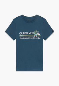 Quiksilver - STONE COLD - Print T-shirt - majolica blue - 0