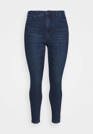 VMLORAEMILIE - Jeans slim fit - dark blue denim