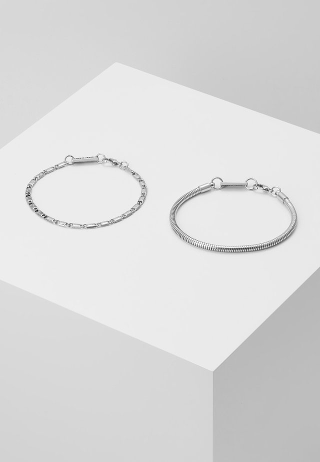 JACK THE LAD COMBO 2 PACK - Armband - antique silver