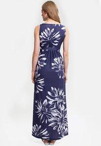 HotSquash - EMPIRE - Długa sukienka - blue with white flower - 1