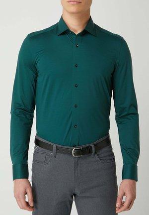 SLIM FIT - Shirt - dunkelgrün