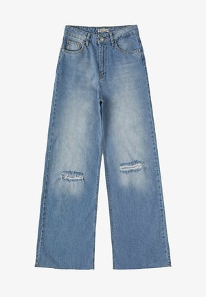 Flared Jeans - blue