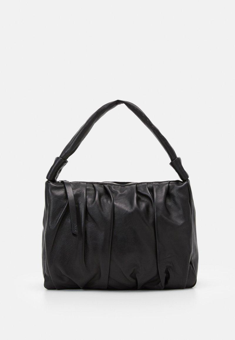 Abro - BEUTEL CALYPSO - Käsilaukku - black/nickel