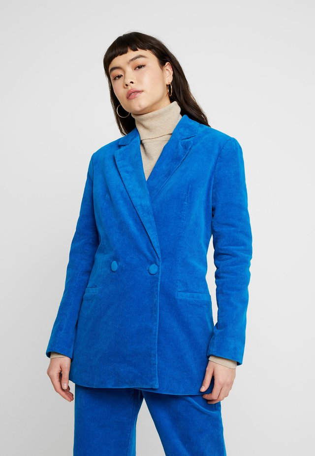 CANVASITE - Short coat - vibrant turquoise