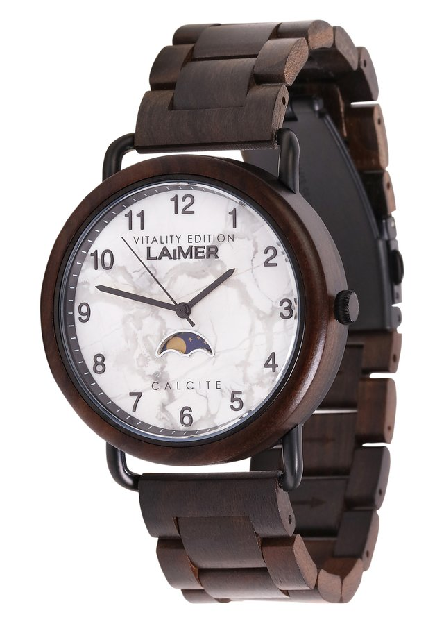 LAIMER QUARZ HOLZUHR - ANALOGE ARMBANDUHR GOTTFRIED - Watch - brown