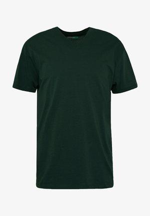 T-shirt basic - teal blue