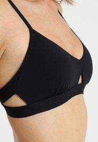 Seafolly - ACTIVE HYBRID BRALETTE - Bikini top - black - 4