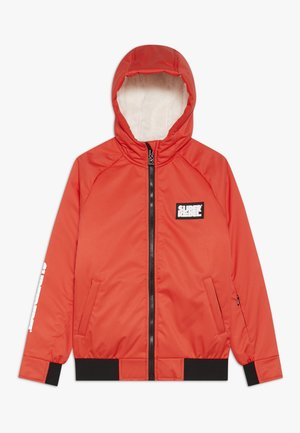 GIRLS THIN JACKET - Snowboardjakke - neon red