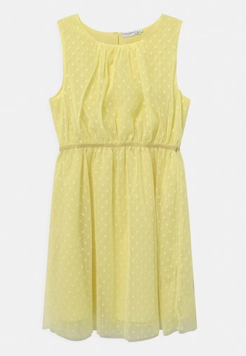 NKFVABOSS SPENCER - Koktejlové šaty/ šaty na párty - yellow pear
