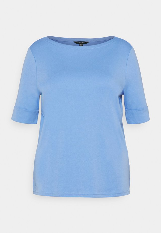 JUDY ELBOW SLEEVE - T-shirt basique - cabana blue
