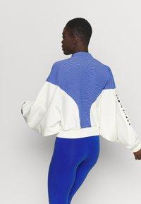 adidas Performance - COVER UP - Veste de survêtement - white/black - 2