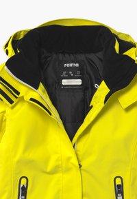 Reima - WINTER FROST UNISEX - Laskettelutakki - lemon yellow - 3