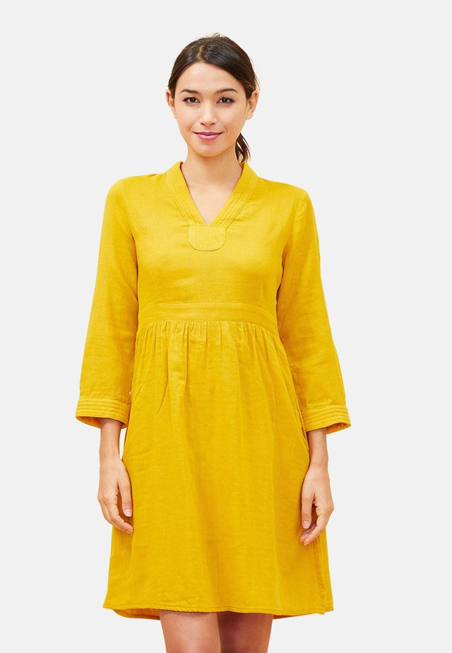 GAREN - Korte jurk - yellow