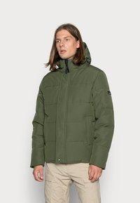 Vintage Industries - ZANDER JACKET - Winter jacket - drab - 0