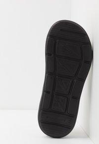 Skechers - SARGO - T-bar sandals - chocolate - 4