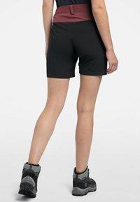 Haglöfs - Sports shorts - maroon red/true black - 1