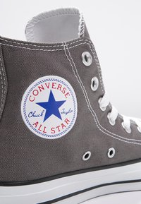 Converse - CHUCK TAYLOR ALL STAR HI  - Sneakers hoog - charcoal - 5