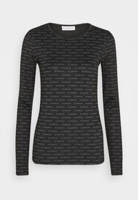 BLANCHE - COMFY LONGSLEEVE - T-shirt à manches longues - black - 0
