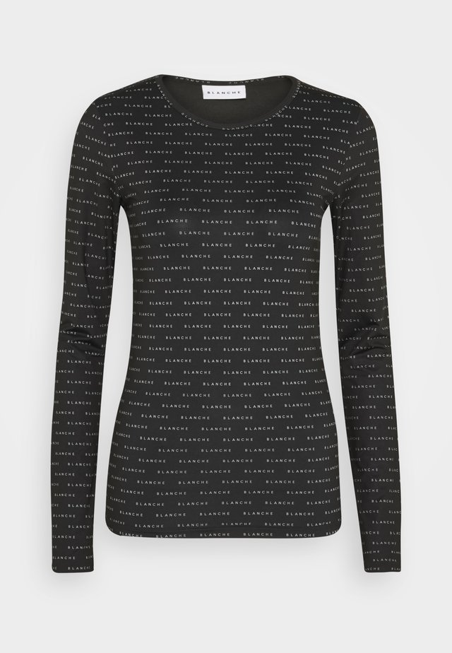 COMFY LONGSLEEVE - Long sleeved top - black