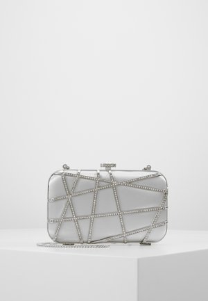 STELLA JEWELLED - Clutch - grey