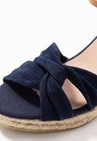 Kanna - SIENA - High heeled sandals - marino - 2