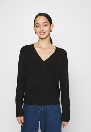 VMWIND V NECK - Jumper - black