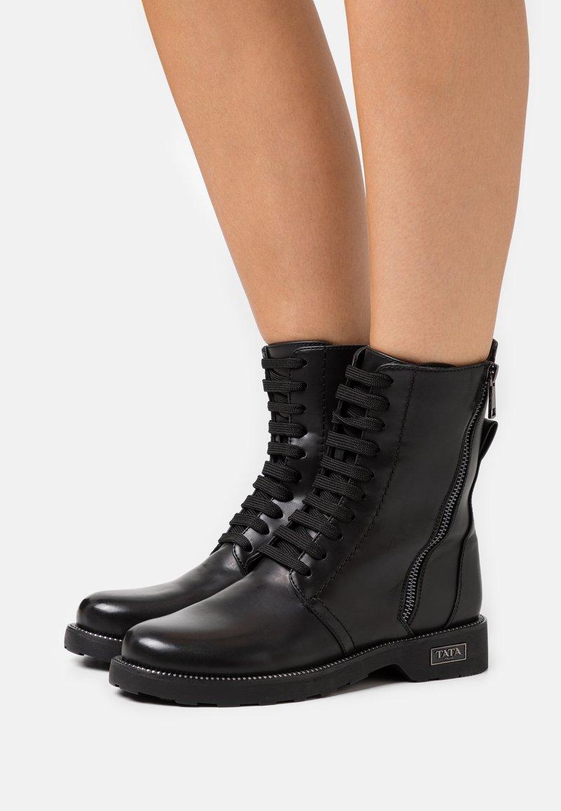 Tata Italia - Lace-up ankle boots - black
