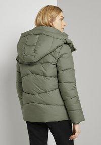 TOM TAILOR - Winter jacket - greyish green - 2