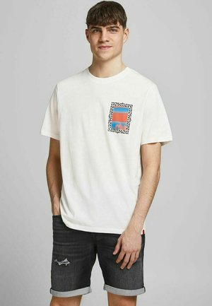 FOTOPRINT - Print T-shirt - cloud dancer