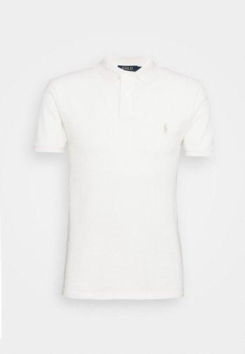 SLIM FIT - Polo shirt - antique cream