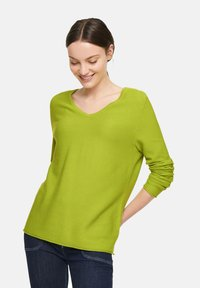comma casual identity - Sweter - lime - 3