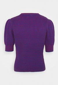 See by Chloé - Print T-shirt - blue/red - 10