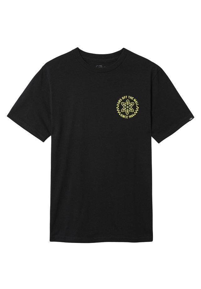 THE SIMPSONS GLOW BART - T-shirt z nadrukiem - (the simpsons) glow bart