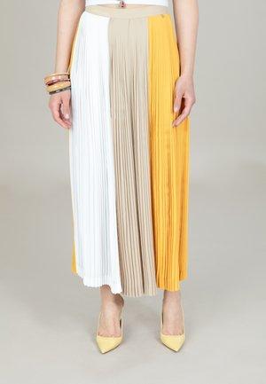 Vekkihame - yellow/sand/white