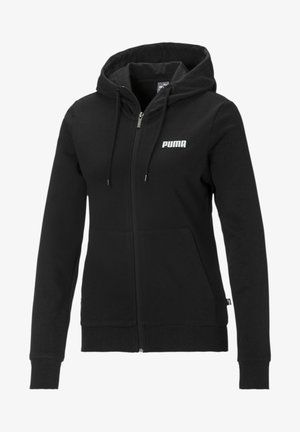 ESSENTIALS - veste en sweat zippée - puma black